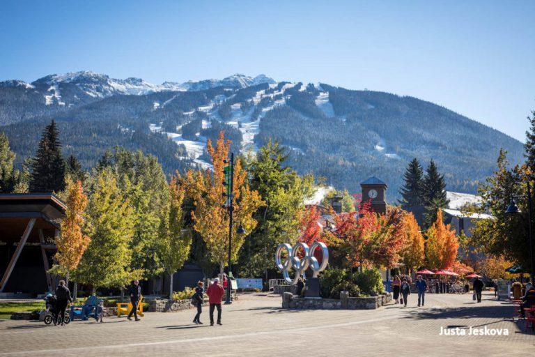 Whistler ski-in village