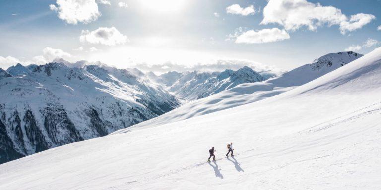 Valentines skiing